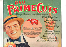"PRIME CUTS (RSO).V/A.ERIC CLAPTON/JACK BRUCE/FREDDIE KING ECT.UK ORIG 10"" LP.EX+"