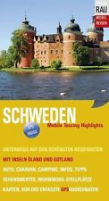 Schweden Rau Mobil Reisen Wohnmobil Stockholm WOMO Tourenbuch GPS Stellplätze