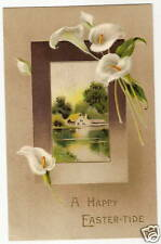 Lily Cottage Lake Easter Postcard Series 2389