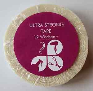 ★ ULTRA STRONG TAPE ★ starker Kleber Klebetape Rolle Extensions SkinWeft Tressen