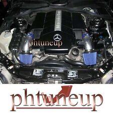 BLUE 1999-2005 MERCEDES BENZ S320 3.2 3.2L S430 4.3 4.3L W220 DUAL AIR INTAKE