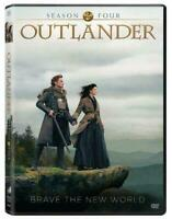 Outlander: Season 4 (DVD, 2019, 3-Discs) BRAND NEW & SEALED FREE SHIPPING