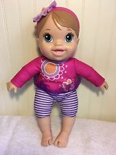 Baby Alive Doll Plays And Giggles Interactive A5977 Twirl Me Mommy Hasbro 2013