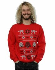 Star Wars Christmas Imperial Fair Isle Jumper sweatshirt Official  Small