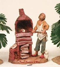 "FONTANINI DEPOSE ITALY 2.5""DARIUS BAKER/OVEN NATIVITY VILLAGE FIGURE NEW ARRIVAL"