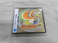Y4764 Nintendo DS Pokemon Heart Gold Japan NDS