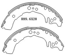 For Toyota Echo NCP10 NCP12 Sedan & Hatch 3/99-06 REAR Drum Brake Shoes R1772