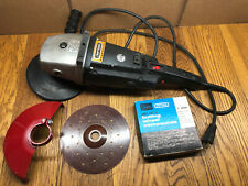 Vintage Craftsman Professional Right Angle Sander / Polisher w/ Buffing Compound
