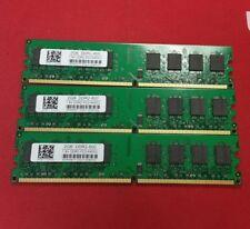 6GB = 3 x 2GB DDR2 800MHz PC2-6400U desktop Memory