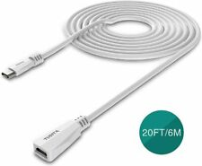 TUSITA Micro USB Power Extension Cable (6M) - Male to Female Extender Cord for B