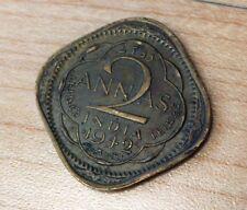 1942 India 2 Annas