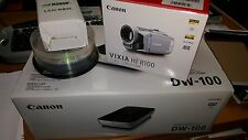 Canon HF R100 Camcorder and DW-100 DVD Burner