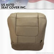 2002 2003 Ford F-150 Lariat XLT Super Crew Driver Bottom Leather Seat Cover Tan