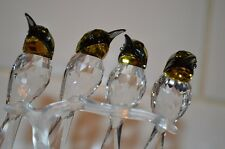 Swarovski Crystal Bee-Eaters Birds Figurine
