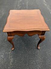 Beautiful Thomasville Fisher Park Hardwood Corner Table Style #06-069 in CT