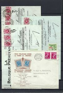 [LG15475] Belgium Nice lot Covers or stationary UNG