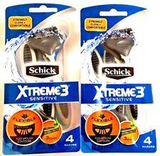 Schick Xtreme 3 Disposable Razor Sensitive 4 1