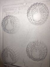 TURKEY COOKIE MOLD CLEAR PLASTIC CHOCOLATE CANDY MOLD T025