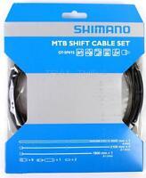 Shimano MTB Bike Shift Cable/Derailleur Set Black Housing Stainless OT-SP41S