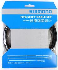 Shimano MTB Bike Shift Cable/Derailleur Set Black Housing Stainless OT-SP41S