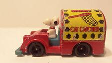 VTG AVIVA Snoopy Corp 1966 Snoopy Cat Catcher Diecast Car Peanuts Charlie Brown