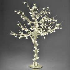 Albero di Natale Luminoso Con 216 Led Bianco Caldo H100cm Adami Bianco