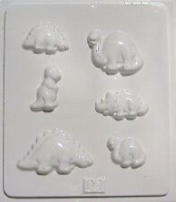 Aldax Chocolate Mould/Mold 1007 - Dinosaurs