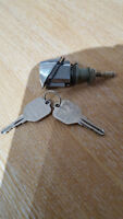 Vauxhall Chavette Boot Lock With Two Keys VERY RARE NEW