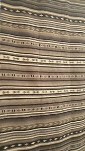 "IKEA Kattrup Area Rug Flatwoven Handmade Gray 7'10"" x 5'7"" 170x240 cm Striped"