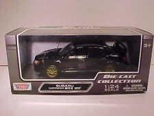 Subaru Impreza WRX STI Die-cast Car 1:24 Motormax 8 inch Black