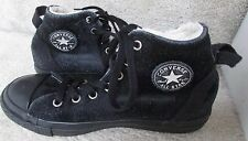 Converse Juniors CT All Star Hollis Hi Top Suede Boots Black Size 4 #632568c
