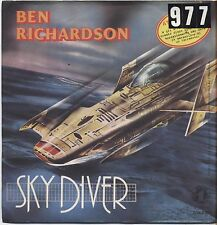 "BEN RICHARDSON - Sky diver - VINYL 7"" 45 LP ITALY 1979 VG+ COVER VG- CONDITION"