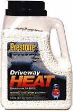 (2) Prestone Driveway Heat 9.5 Lbs Calcium Chloride Safe Ice Melter - 9.5J-Heat
