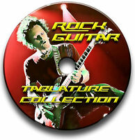 570x ROCK GUITAR TAB TABLATURE SONG BOOK LIBRARY SOFTWARE CD