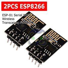 2X ESP8266 Serial WIFI Wireless Transceiver Module Send Receive AP+STA ESP-01 US