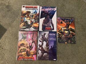 Thunderbolts tpb lot-set of NEW Graphic Novels-1 HC 4 tpbs-Venom/Green Goblin