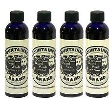 Mountaineer Brand® Beard Wash Shampoo 4 Pack: Best Selling Bundle