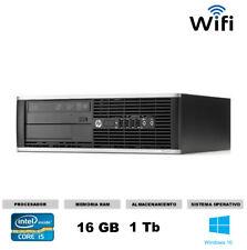 Ordenador Hp 8200 sff Core i5  Windows 10 16gb 1 tb rapido y economico