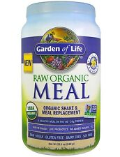 NEW Garden of Life RAW Meal Vanilla 33.5 oz, Free Shipping