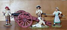 Britains  American Revolution 17451 MOLLY PITCHER SET w/CANNON in Original Box