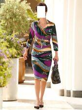 Jersey vestido lila-negro-Camel verano playa ocio talla 50 (25) 091424654 6