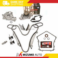 Timing Chain Kit w/o Gears Water Oil Pump Gasket Fit 02-06 Chrysler Dodge 2.7L
