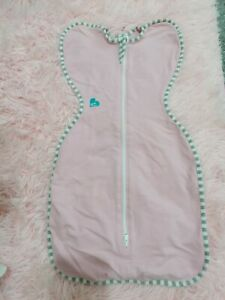 Love to dream Pink swaddle. Size small. 1.0 tog