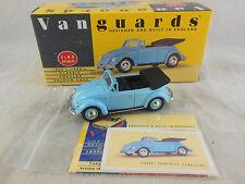 Vanguards VA2001 VW (Volkswagen) Beetle Cabriolet in Pale Blue