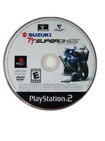 Suzuki TT Superbikes PS2 Sony PlayStation 2 Video Game Disc Only Rated E