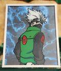 Glass Painting 8x10 Naruto Kakashi Anime Framed