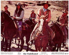The Undefeated John Wayne Roman Gabriel western Original US Lobby Card 1969