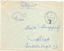 *Feldpost II. WK - 1942 * nach lübeck (Brief) (47)