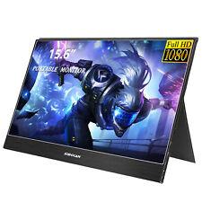 Sibolan 144HZ Gaming Portable Monitor 15.6 inch 1080P USB Type-C 5mm ultra slim