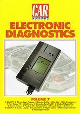 MECCANICA auto diagnostica elettronica LIBRI RISTAMPA volume 7